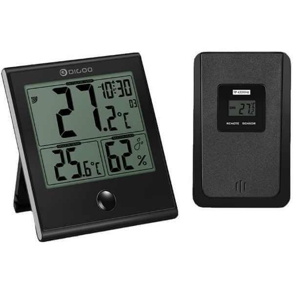 Station Météo Digoo Thermomètre numérique intérieur extérieur - test ... b57dd91c2579
