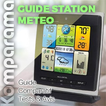 station meteo guide komparama